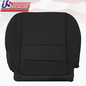 Driver Lower Leather For 2007 2012 Acura MDX Replacement Cover in Black shade