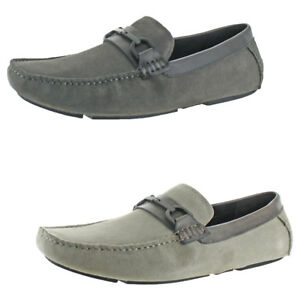 Kenneth Cole Reaction Mens DESIGN21166 Suede Casual Driving Moccasin Loafer Shoe
