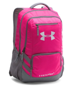 Under Armour UA Storm Hustle 3.0 Backpack PinkGray