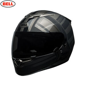 Bell 2018 RS-2 Full Face Motorcycle Helmet - Tactical Matte BlackTitanium
