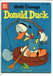 DONALD DUCK #47 1956 FISHING COVER fn minus
