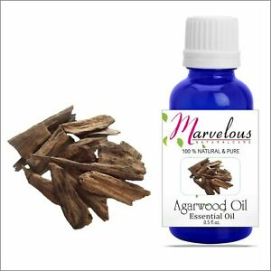 Agarwood Oil 100% Natural Pure Undiluted Essential Oil 5Ml To 1000Ml