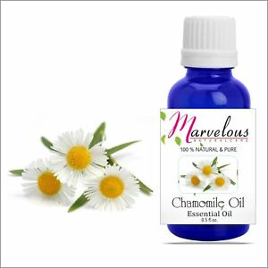 Chamomile Oil 100% Natural Pure Undiluted Essential Oil 5Ml To 1000Ml