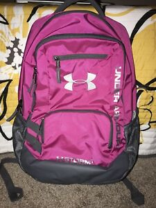 Under Armour Pretty Pink School Office Storm 1 UA Hustle College  Backpack
