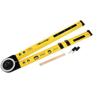 MULTI FUNCTION RULER ANGLE FINDER SPIRIT LEVEL 500mm  20inch 0-270°