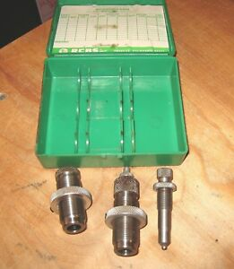 RCBS 2 44 MAG Magnum Reloading Dies Sizing & Seating Only Semi Wad Cutter