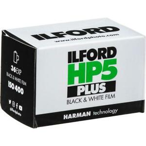 Ilford HP-5 Plus Black and White Film, ISO 400, 35mm, 36 Exposures - 3 Pack
