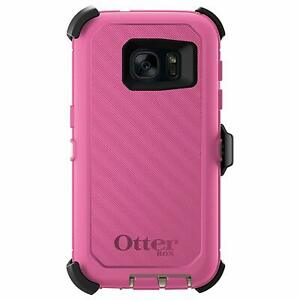 NEW OtterBox Defender Galaxy Note 4 Case wHolster Pink Rugged Heavy Duty Cover