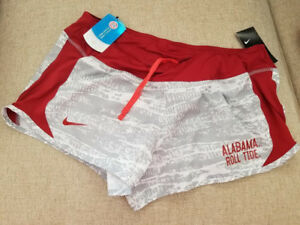 Women's NIKE ALABAMA ROLL TIDE Dry FIT Shorts DRI-FIT Size LARGE - NEW WITH TAG