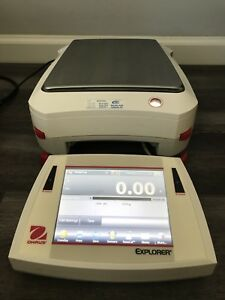 Ohause Explorer Scale EX10202N in 1A Condition From Laboratory's Bankruptcy
