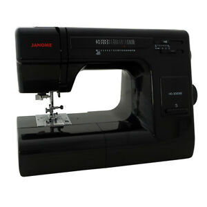 Janome HD 3000 BE Black Edition $399.00