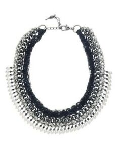 Chloe Isabel Leather Chain Pearl Necklace