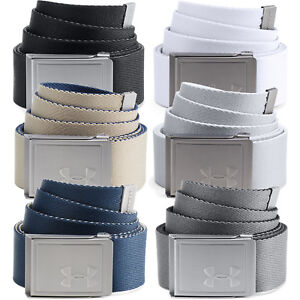 Under Armour 2019 Mens Reversible Webbing 2.0 Golf Belt - One Size Fits All