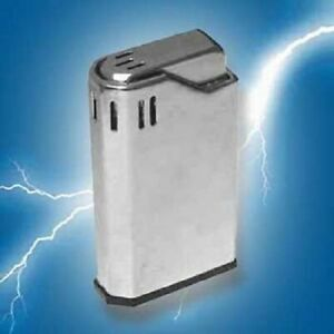 Shocking Lighter Toy Electric Shocker Novelty Trick Fake Gag Gift Office Prank
