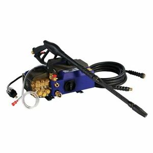 AR Blue Clean Professional 1900 PSI (Electric-Warm Water) Hand Carry Pressure...