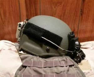 MICH 2000 ACH Helmet 2002 with Anvis CAG Delta SF PJ Modified Ground Mount