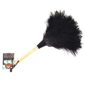 Wool Shop 13 in. Ostrich Feather Duster Cleaning Tools hand washable Durable NEW