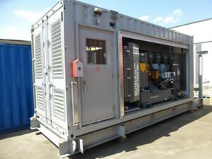 NEW SURPLUS CONTAINERIZED HIGH PRESSURE AIR COMPRESSOR SYSTEM
