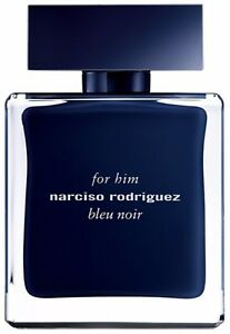 Narciso Rodriguez Him Bleu Noir Eau de Toilette Spray for Men 3.3 oz (Pack of 9)