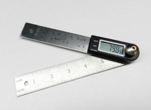 iGAGING Digital Protractor with 7quot; and 4quot; Stainless Steel Blade 35 407 $19.95