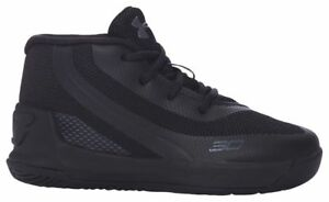 Under Armour Curry 3 Boys' Toddler BlackBlackBlack 6276-001