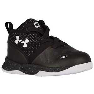 Under Armour Curry 2 Boys' Toddler BlackBlackWhite 6153-001