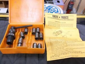 FORSTER BULLET PULLER WITH 10 DIFFERENT COLLETS