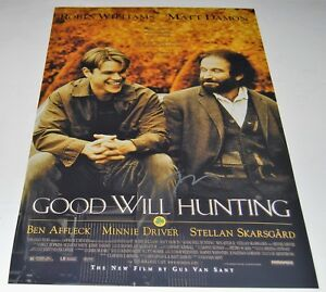 GUS VAN SANT signed (GOOD WILL HUNTING) 12X18 movie poster photo DIRECTOR WCOA