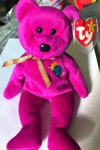 Collectors Item Misspelled *MILLENIUM* Beanie Baby *RARE* Great Condition!!