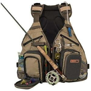 Fishing Jackets & Vests Fly Backpack Combo Chest Pack For Tackle Gear And Water