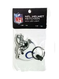 NFL Indianapolis Colts Helmet Keychain With LED Light New In Package Fast Ship