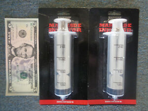 Syringe Type Marinade Injector 2oz. TURKEY POULTRY BBQ QTY 2 PAIR