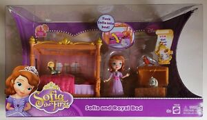 Brand New Disney Sofia the First Sofia and Royal Bed #14 Get Your Rest FREE SHIP