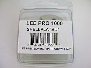 LEE 90651 Lee 357 Magnum 38 S&W 38 Special Pro 1000 Press Shell Plate # 1
