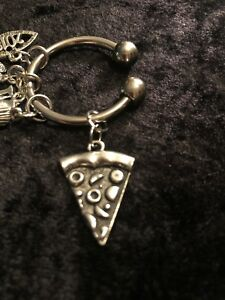 Pizza Night You're IN! Plan Track & Enjoy! Charm for Weight Watchers Ring