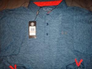 UNDER ARMOUR GOLF POLO SHIRT SIZE 3XL MEN NWT $64.99