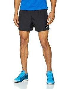 NIKE Men's Challenger 5in Running Shorts BlackReflective Silver