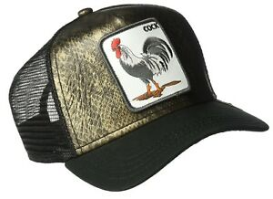 Goorin Animal Farm Trucker Baseball Hat Cap Cock Rooster Chicken Tropical Snake