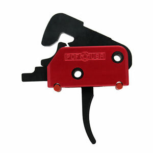 Patriot Ordnance Red Single Stage Drop-In Trigger 4.5lb Pull Weight mm 00457