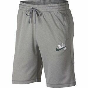 NIKE SB Mens Dri-FIT Shorts Dk Grey HeatherWhite
