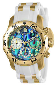 Invicta 24831 Women's Pro Diver Chrono Abalone Dial Watch