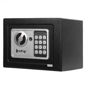 Upgrade 9quot; Electronic Digital Keypad Combination Home Security Office Safe Box $23.78