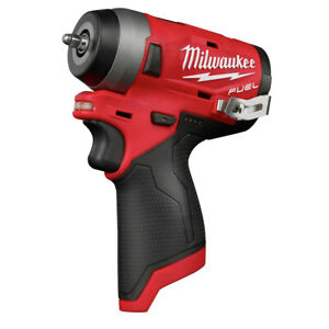 Milwaukee 2552 20 M12 FUEL Li Ion 1 4 in. Stubby Impact Wrench BT New $164.99