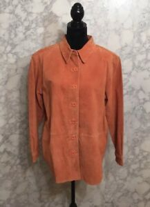 Bagatelle Women's Suede Leather Jacket Size Medium