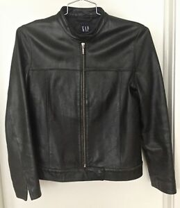 GAP Vintage Women's Leather Jacket M