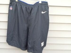 Limited Edition Nike Dri-FIT NFL New York Giants 2017 Dry Vapor Player Shorts