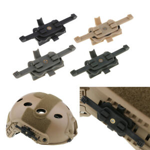 MagiDeal Tactical Helmet Mount Adapter onto FAST Rail Camera Bracket