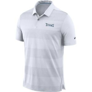 Nike NFL 2018 Tennessee Titans Sideline Early Season Wordmark Dri-FIT Polo Shirt