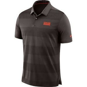 Nike NFL 2018 Cleveland Browns Sideline Early Season Wordmark Dri-FIT Polo Shirt