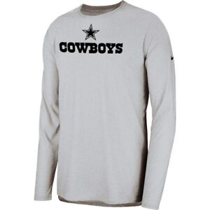 New Nike 2018 NFL Dallas Cowboys Sideline Player Long Sleeve Dri-FIT T-Shirt